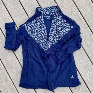 Pendleton Blue Aztec Cardigan